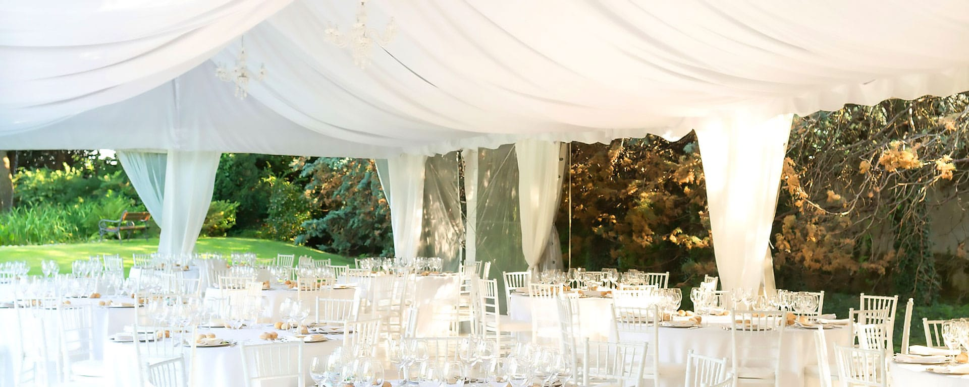 We OFFER Special Wedding Marquee Packages!